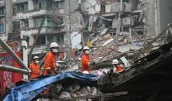 Количество жертв землетрясения в Китае уже перевалило за сотню