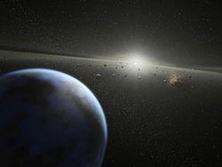 Ядро Земли сформировалось после столкновения с космическим объектом