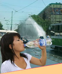 В Ташкенте - небывалая жара