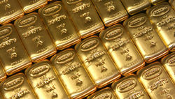 Золото, по прогнозам LBMA, в 2013 году подорожает на 5,1 процент