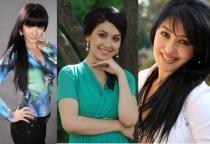 Самые востребованные актрисы кино Узбекистана