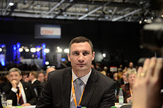 Виталий Кличко -- боксер и политик