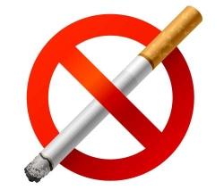 Начал действовать закон о запрете курения
