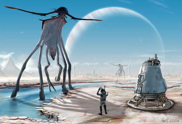 планетата на извънземните