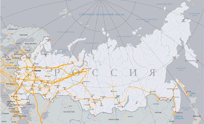 Цитата.  А главное правильно.  Так что схему стоит показать с сайта ГП.  Единая система газоснабжения России.