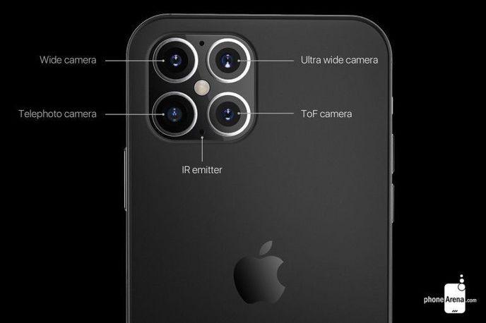 Два новых рендера iPhone 2020 попали в сеть