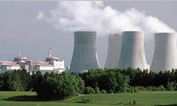 Висагинас- Атомная электростанция в Висагинасе, фотомонтаж - vae.lt