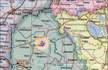 karta- АЭС - на границе с Литвой - brik.org