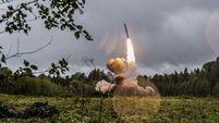 """В ходе учений """"Запад-2017"""" Россия тестировала квазибаллистические ракеты """"Искандер-М"""""""