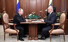 Сергей Цивилев и Владимир Путин