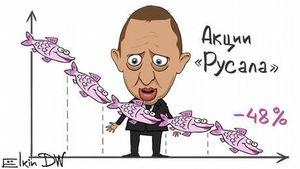 Обвал на фондовом рынке глазами карикатуриста Сергея Елкина