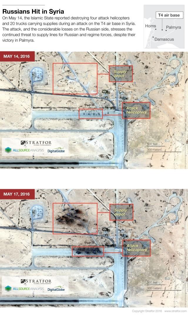 обстрел авиабазы в Сирии