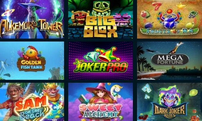 Слоты и игровые автоматы goxbet