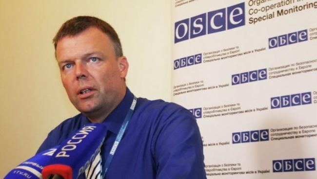 Боевики массово препятствуют работе ОБСЕ наДонбассе,— Хуг