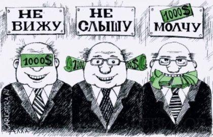 коррупции власти