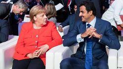 Ангела Меркель и шейх Тамим бен Хамад Аль Тани