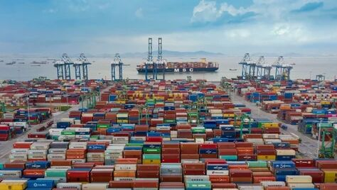 Порт Китая