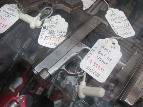 оружейный магазин в США