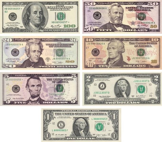 Изображение доллара США