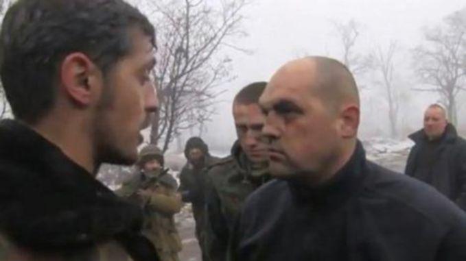 Олег Кузьминых в плену