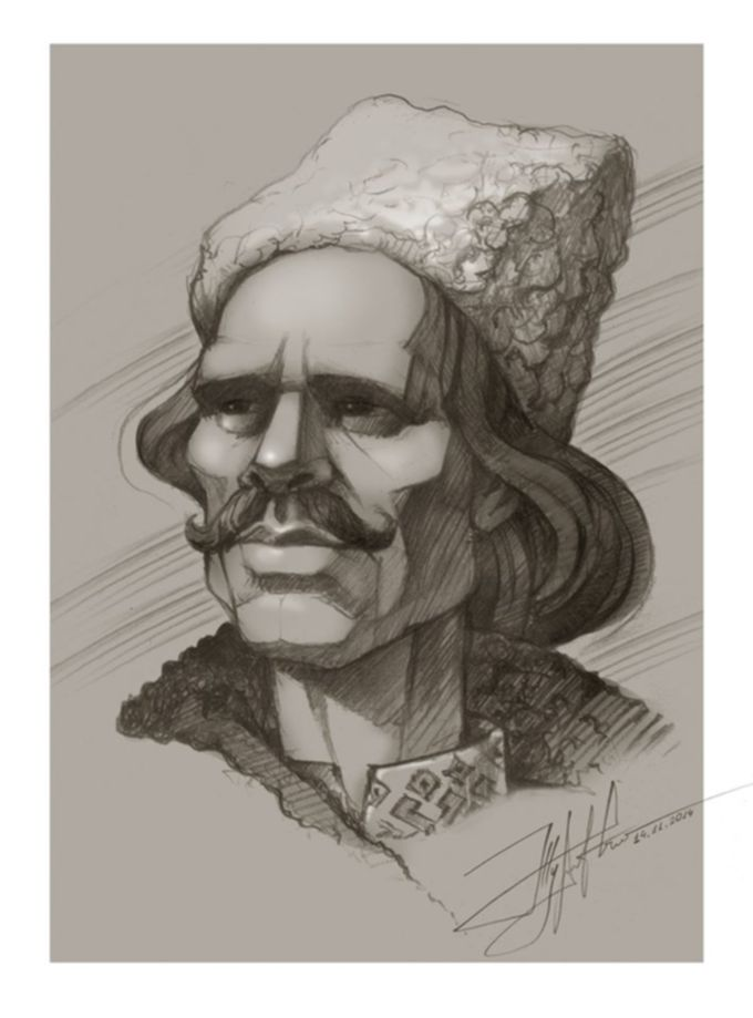 Портрет Нестора Махно