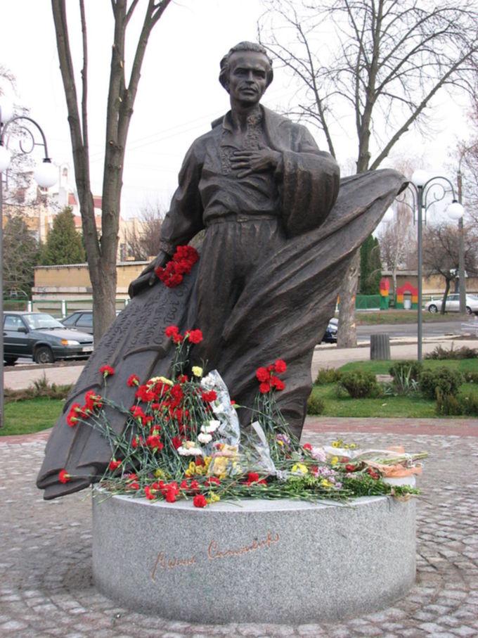 Памятник Василию Симоненко