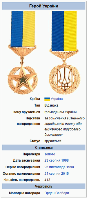 Награда Василия Стуса