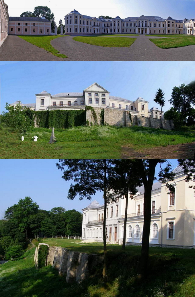 Замок-палац Вишневецьких у місті Вишнівець Збаразького району Тернопільської області